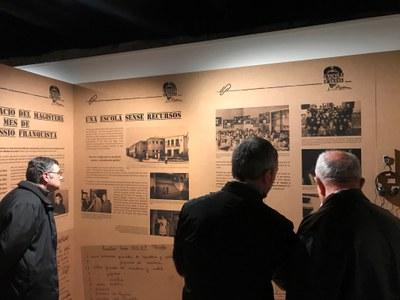 'L'escola d'abans', l'exposició temporal més visitada del Museu Arqueològic