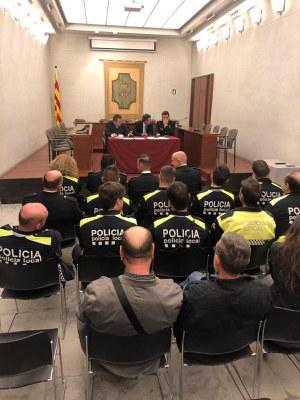Banyoles celebra la Diada de la Policia Local