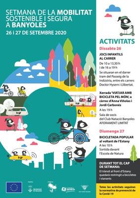 Banyoles celebrarà aquest cap de setmana la Setmana de la Mobilitat