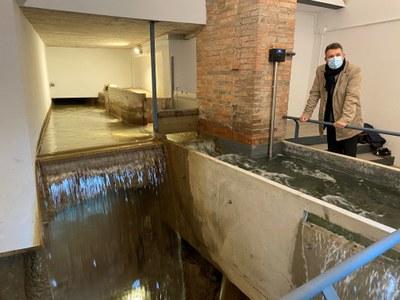 Banyoles completa la rehabilitació del Molí dels Paraires per a fer-lo visitable