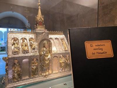 Banyoles estrena una visita guiada del robatori de l'Arqueta de Sant Martirià