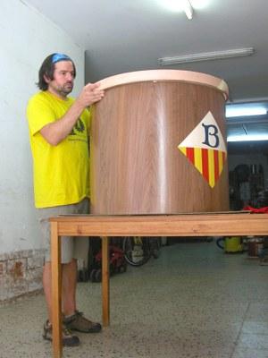 Banyoles estrenarà per la Festa Major de Sant Martirià el tabal més gran de Catalunya