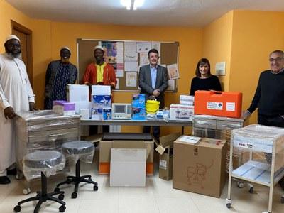Banyoles impulsa un projecte de cooperació amb la ciutat gambiana de Garawol