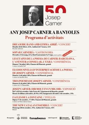 Banyoles inaugura demà divendres l'exposició de l'Any Carner