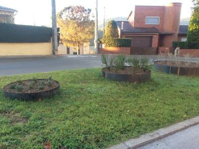 Banyoles millora els enjardinaments a diferents espais de la ciutat