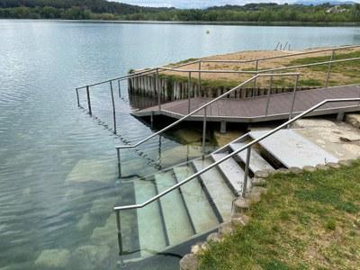 Banyoles obre demà la temporada de bany a l'Estany