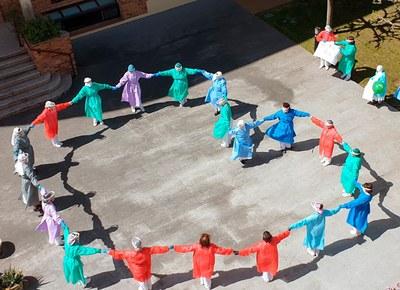 Banyoles participa a l'exposició fotogràfica a l'aire lliure «Des del meu balcó»
