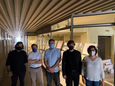 Banyoles reflexiona sobre la construcció de la ciutat amb l'exposició 'Arquitectes i ciutat'