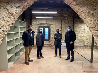 Banyoles reforma l'edifici del Tint
