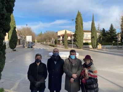 Banyoles restaura la plaça dels Jurats per recuperar-la com a element escultòric
