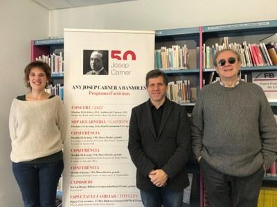 Banyoles se suma a l'Any Josep Carner amb un programa d'activitats dedicat a l'escriptor