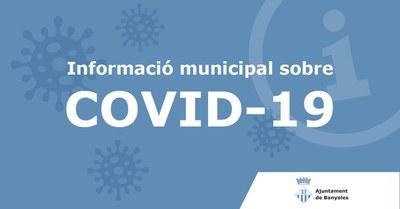 Comunicat sobre el coronavirus 15/03/20 a les 21:20.