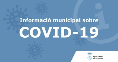 Comunicat sobre el coronavirus 25/03/20 a les 16:20.