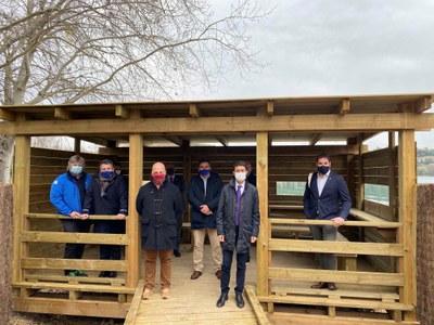 El Consorci de l'Estany finalitza els treballs de millora al sector dels Amaradors, al nord de l'Estany