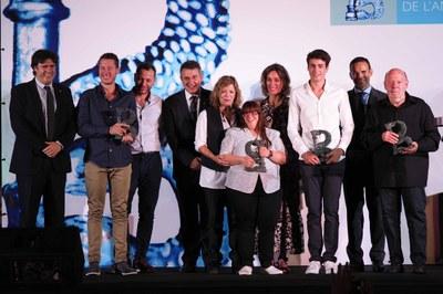 El corredor de muntanya Oriol Cardona, Premi Banyolí de l'Any 2019