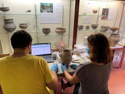 El Museu Arqueològic de Banyoles trasllada la col·lecció permanent per la reforma