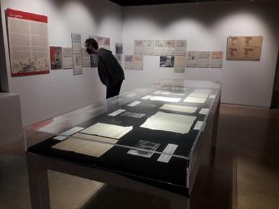 El Museu Arqueològic exposa 'Llapis, paper i bombes. 1936-1939'