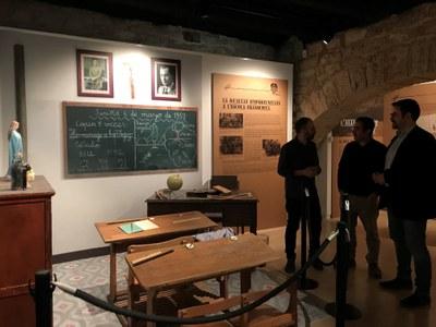 """El Museu Arqueològic presenta """"l'Escola d'abans"""", una revisió a l'educació durant el franquisme"""