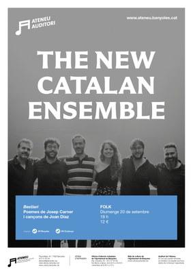 """El sextet The New Catalan Ensemble obre temporada de concerts a l'Auditori de l'Ateneu amb l'espectacle """"Bestiari"""" de l'Any Carner"""