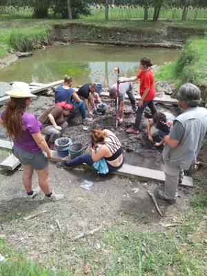 Es tanca una nova campanya d'excavacions al jaciment arqueològic de La Draga de Banyoles