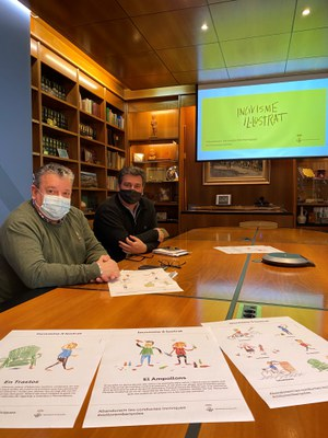 L'Ajuntament de Banyoles presenta la campanya 'Incivisme il·lustrat' per promoure el civisme a la ciutat