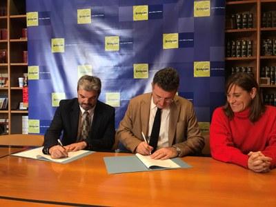 L'Ajuntament de Banyoles signa un conveni amb l'Associació de Celíacs de Catalunya