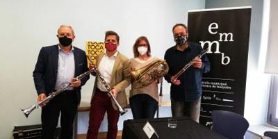 L'Escola Municipal de Música de Banyoles introduirà l'estudi d'instruments de cobla