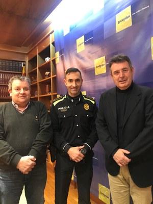 L'inspector Emili Garcia Cano és el nou cap de la Policia Local de Banyoles