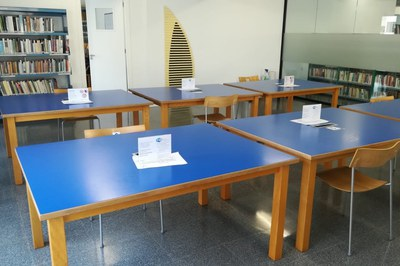 La Biblioteca de Banyoles obre a partir d'avui l'Aula d'Estudi