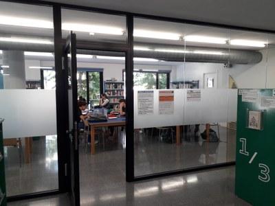 La Biblioteca de Banyoles obre l'Aula d'Estudi