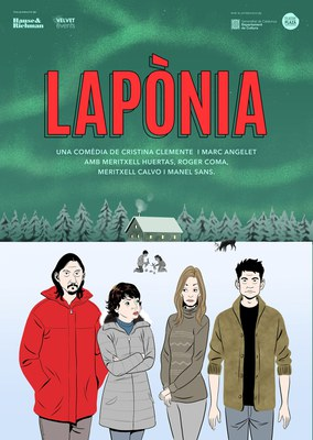 """La comèdia """"Lapònia"""", amb Roger Coma, aquest cap de setmana al Teatre Municipal de Banyoles"""