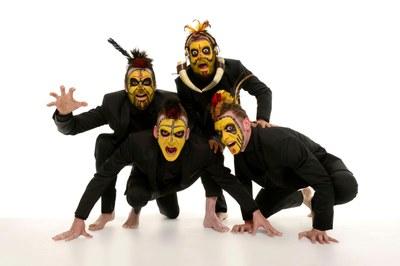 """La companyia madrilenya Yllana tona al Teatre Municipal de Banyoles amb el seu espectacle """"The primitals"""""""