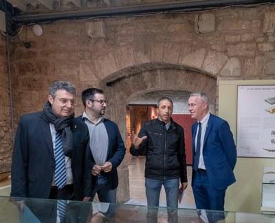 La Diputació de Girona i l'Ajuntament de Banyoles completaran la reforma del Museu Arqueològic