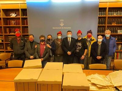La família Brugada cedeix el seu fons documental a la ciutat de Banyoles