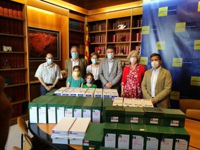 La família d'Anton Maria Rigau cedeix el seu arxiu personal a Banyoles
