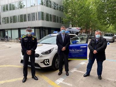 La Policia Local de Banyoles estrena nou vehicle policial