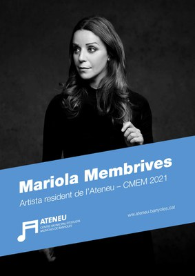 La prestigiosa cantaora Mariola Membrives omplirà Banyoles de flamenc com a artista resident de l'Ateneu-CMEM 2021