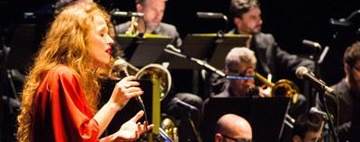 La Vicens Martín Dream Big Band i Gemma Abrié porten l'espectacle els fruits saborosos a l'Auditori de l'Ateneu de Banyoles