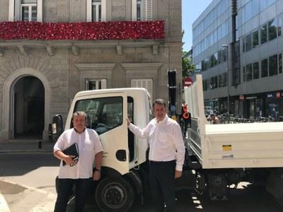 Nou vehicle per a la Brigada Municipal de Banyoles