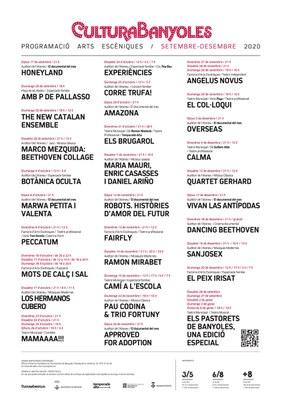 Ramon Mirabet, Guillem Albà, Marco Mezquida, Toni Gomila, Peyu i Sanjosex a la nova programació de Cultura Banyoles