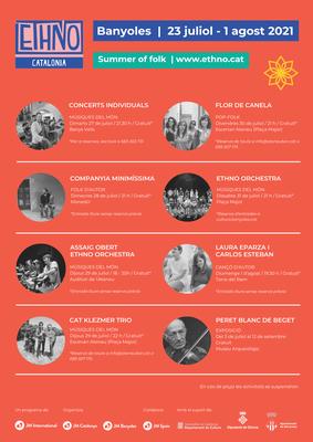 Una trentena de músics de 12 països diferents protagonitzaran la cinquena edició de l'Ethno Catalonia a Banyoles